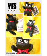 Ghibli studio kikis delivery service ornament plush jiji cat 0 thumbtall