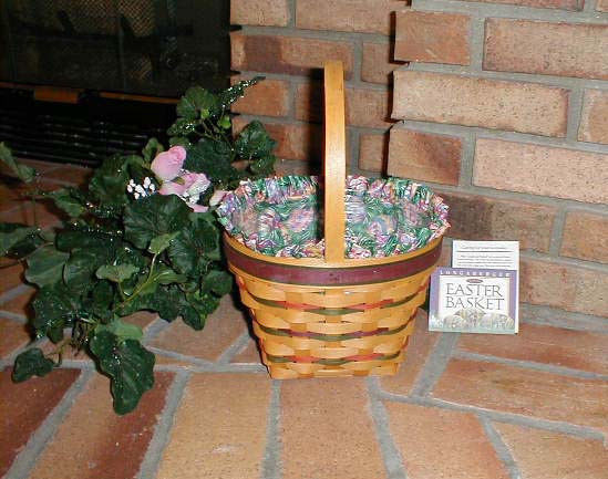 Longaberger 1996 Easter Basket Plastic Protector ONLY New Genuine USA Made image 2