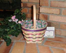 Longaberger 1996 Easter Basket Plastic Protector ONLY New Genuine USA Made image 3