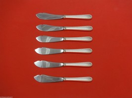 """Winslow by Kirk Sterling Silver Trout Knife Set 6pc. HHWS  Custom Made 7 1/2"""" - $489.00"""