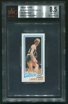 1980-81 Topps Larry Bird Rookie Card Rc Single Panel Bvg 8.5 NM-MT+ Erving Magic - $1,077.99