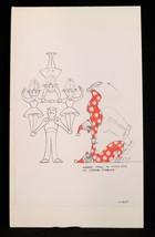 MARC DAVIS Original Drawing CONCEPT ART Disney Imagineer Theme Park Disn... - $420.39