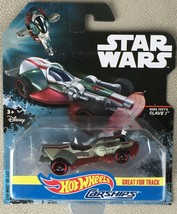 2016 HOT WHEELS STAR WARS CARSHIPS SLAVE 1 DIECAST MOC 1:64 ROGUE - MIP - $9.95