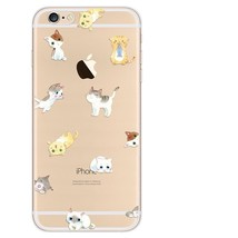 Chats Chatons Transparent Silicone Souple Case Cover Skin pour Apple Iph... - $5.24