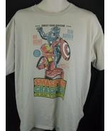 Iron Man Captain America Civil War Smash'em Crash'em Marvel Comics T-shi... - $12.86