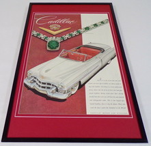 1953 Cadillac ORIGINAL Framed 12x18 Vintage Advertisement Poster - $65.09