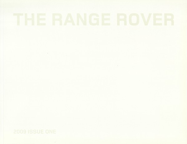 2009 Land Rover RANGE ROVER sales brochure catalog US 09 HSE
