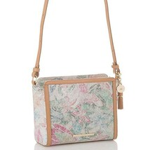 Brahmin Carrie Leather Crossbody Bag Creme Talitha