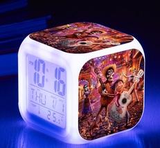 Coco Movie #01 Led Alarm Clock Figures LED Alarm Clock - $25.00