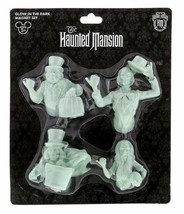Disney The Haunted Mansion 3D Glow In Dark Ghosts Magnet Set~New~Car Or Kitchen - $47.51