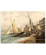 1890s photo Yachts starting, Hastings, England. vintage photo collection the A e - $12.19