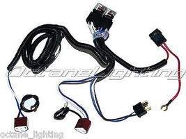 OCTANE LIGHTING Ceramic H4 Headlight Relay Wiring Harness 2 Headlamp Light Bulb  - $34.60