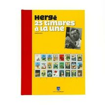 25 timbres a la une Limited edition and numbered French Tintin official product image 5