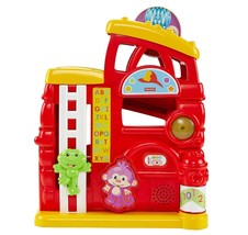 Fisher Price Laugh & Learn Monkey's Smart Stages Firehouse - CGR77 - New - $45.39
