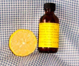 LEMON ESSENTIAL OIL  1 oz - $6.50