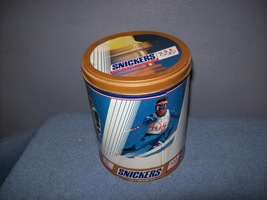 1992 Winter Olympics Snickers Tin Replica Advertising - $9.00