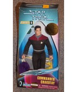 1997 Star Trek Commander Chakotay 9 inch Figure New In The Box - $24.99