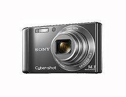 Used Sony Cyber-shot DSC-W370 14.1 MP Digital Camera - Black