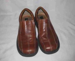 Mens Size 10.5 Kenneth Cole REACTION Brown Casual Slip On Shoes - $86.89
