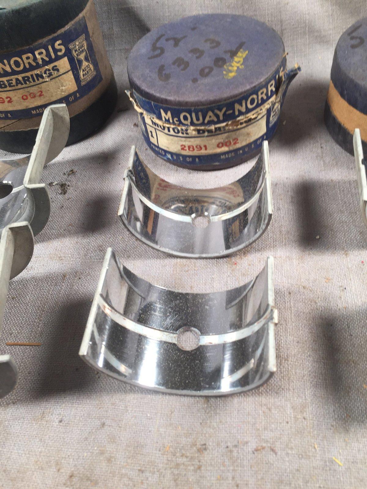 1947-1939 Ford 60 HP flathead main bearings and 50 similar items