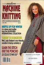 Modern Machine Knitting Jan 1995 Magazine Eco Friendly Sweater in Hemp a... - $7.99