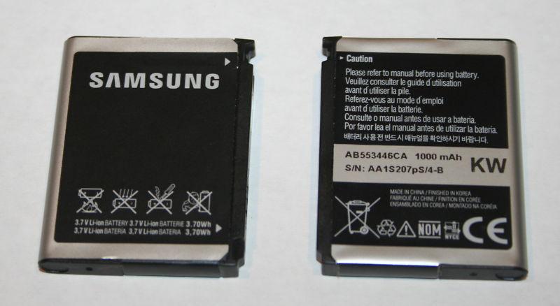 OEM Samsung Battery A767 Propel AT&T AB553446CA 1000mAh