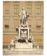 1890s photo Mozart Monument, Vienna, Austro-Hungary . vintage photo collection a - $12.19