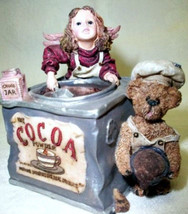"Boyds Wee Folkstones""Cocoa M Angelrich & Scoop"" Musical- #271050-1E-NIB-Retired image 2"