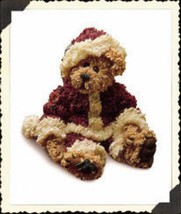 "Boyds Bearstone ""Sandy Claus..Have a Simple Christmas"" #228320* 1E* NIB*2000 image 1"