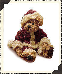 "Boyds Bearstone ""Sandy Claus..Have a Simple Christmas"" #228320* 1E* NIB*2000 image 2"