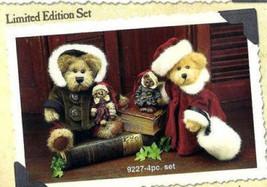 "Boyds Bears ""Bailey & Matthew"" 1998 Plush-Ornament 4 piece set - #9227-New - $59.95"