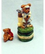 """Boyds Bears-LeBearmoge Porcelain Box """"Babe Zebearus.. Fore"""" #392012- 2E-... - $19.99"""