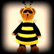 "Boyds Bears ""Buzzy Beeboy"" 11"" LE Longaberger Plush Bear #95357LB- NWT -Retired image 2"