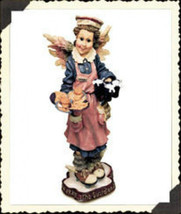 "Boyds Bears Folkstone""Ms. Fries..The Guardian Angel of Waitresses"" #2824... - $10.99"