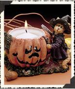 "Boyds Purrstone Votive ""Sabrina Punkinpuss #81011- Candle -NIB-2000-Retired - $23.99"