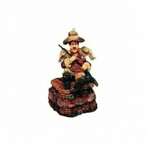 "Boyds Wee Folkstone ""Myron..The Angler"" #25660- Fishing Ornament-1E-NIB-Retired"