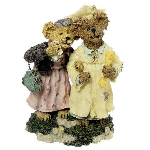 """Boyds Bearstone """"Momma Berriproud w/Jamie.. Sieze The Day"""" #227755-1E -NIB-2000"""