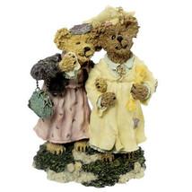 "Boyds Bearstone ""Momma Berriproud w/Jamie.. Sieze The Day"" #227755-1E -NIB-2000 image 1"