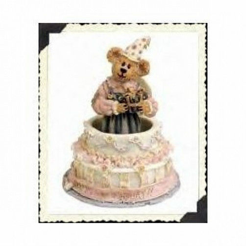 "Boyds Bearstone ""Gypsy Rose...Surprise!!!"" *#228332 * NEW *2000*Retired"