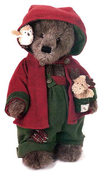 "Boyds Bear ""Redford T Woodsbeary"" #912501-16"" Plush Bear- 2001- Retired"