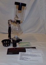 Coffee Syphon 3 Cup Hario Siphon Brewer Machine Glass - €41,81 EUR