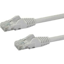 StarTech.com 15 ft White Snagless Cat6 UTP Patch Cable - $11.29