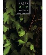 1992 Mazda MPV sales brochure catalog US 92 V6 4WD - $8.00