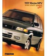 1997 Mazda MPV sales brochure catalog US 97 4WD All-Sport - $8.00