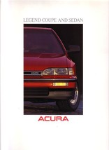 1989 Acura LEGEND sales brochure catalog US 89 L LS Honda - $9.00