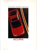 1989/1990 Acura INTEGRA brochure catalog US 90 GS Honda - $9.00