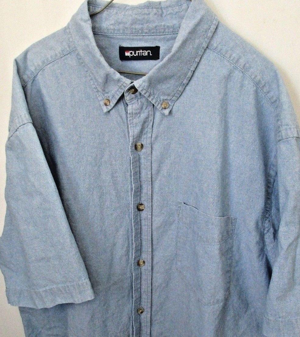 Puritan Mens Short Sleeve Polo Shirt Bcd Tofu House