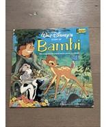Walt Disney's Story of Bambi Disneyland 1203  1978 Alternate Cover Thumper  VG - $18.00