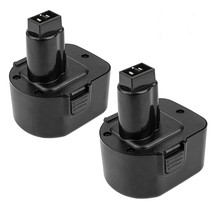 2 Pack 3.6Ah Ni-Mh Dc9071 Battery Replacement For Dewalt 12V Battery C - $53.99