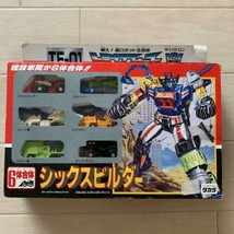 Takara Transformers Six Bricoleur TF-01 Mini Voiture Figurine Set 1992 Neuf - $707.29